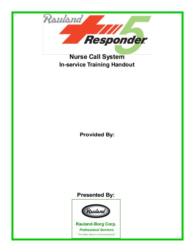 responder 5 complete training handout 1 638?cb=1458667147 responder 5 complete training handout rauland responder 5 wiring diagram at fashall.co