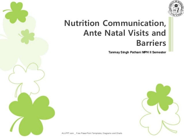 Nutrition Communication Anc And Pregnancy