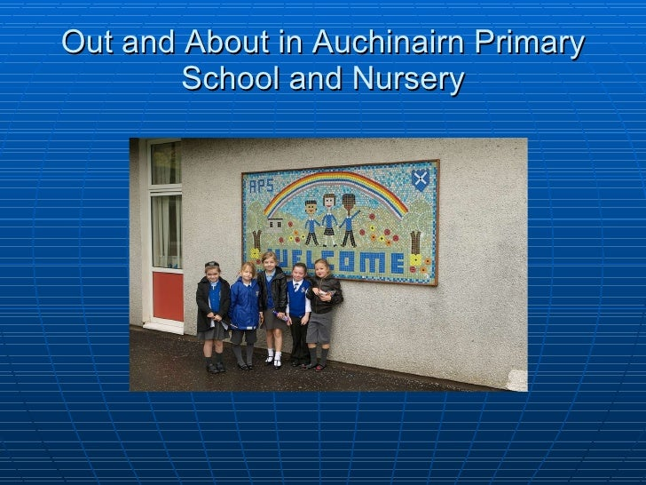 Out and About in Auchinairn Primary School and Nursery