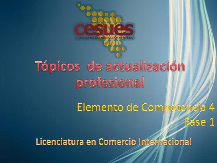 4. Evaluar las alternativas de actualización profesional parael análisis de las diferentes especialidades, maestrías,docto...