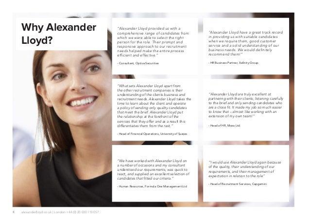 Alexander Lloyd Online Brochure