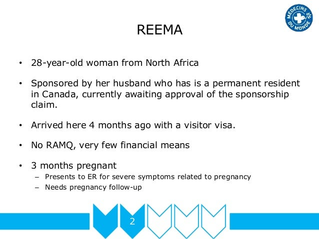 REEMA 2 • 28-year-old woman from North Africa • Sponsored by her husband who has is a permanent resident in Canada, curren...