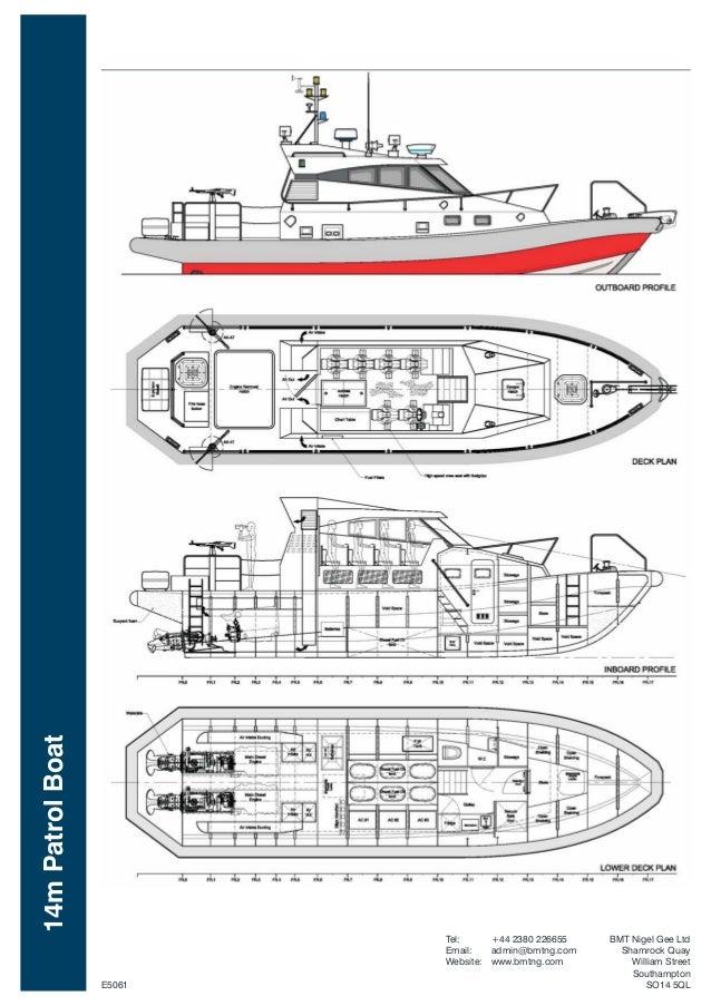 Bmt 42 Knot  14m Patrol Boat