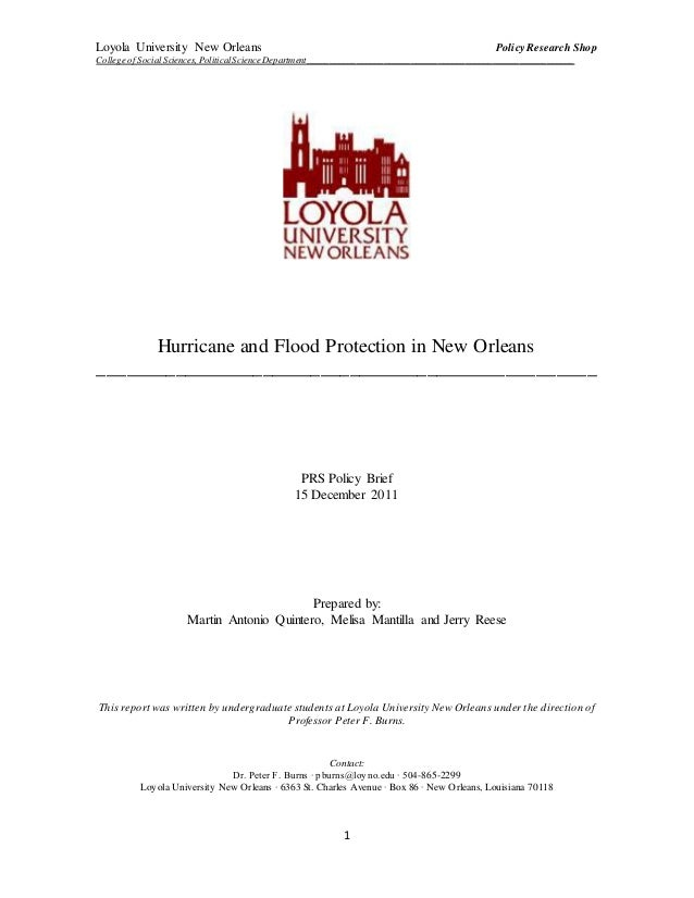 college essay on hurricane katrina Read both hurricane katrina case studies, found in the resources below, before responding the advance preparations taken by new orleans, the state of.