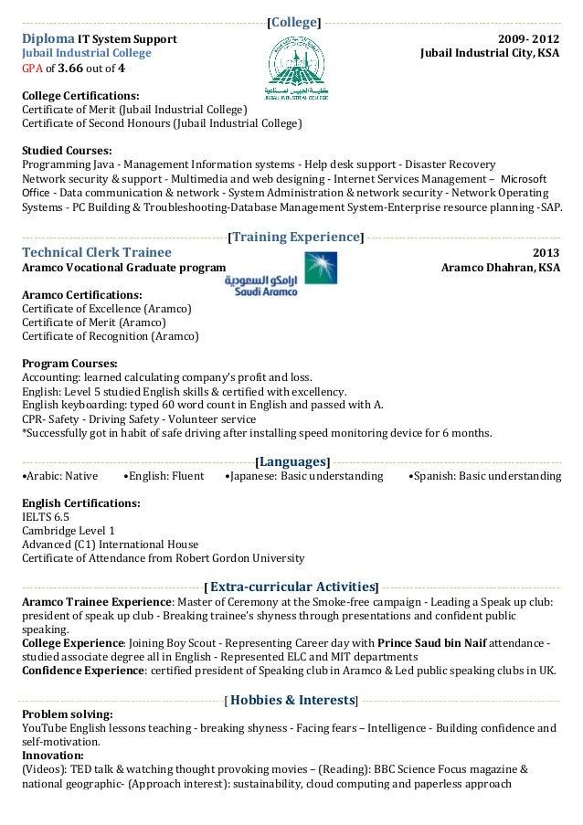 cv 4 job hunting