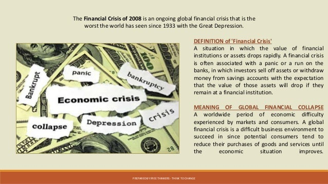 2008 financial collapse summary Undoubtedly the most important impact of the global financial crisis  it may have  shaved more than 5 per cent off china's 2008 growth rate.