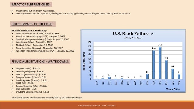 Global Economic Collapse - Major banks in usa