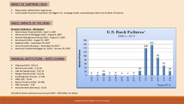 Global Economic Collapse - Major banks in usa