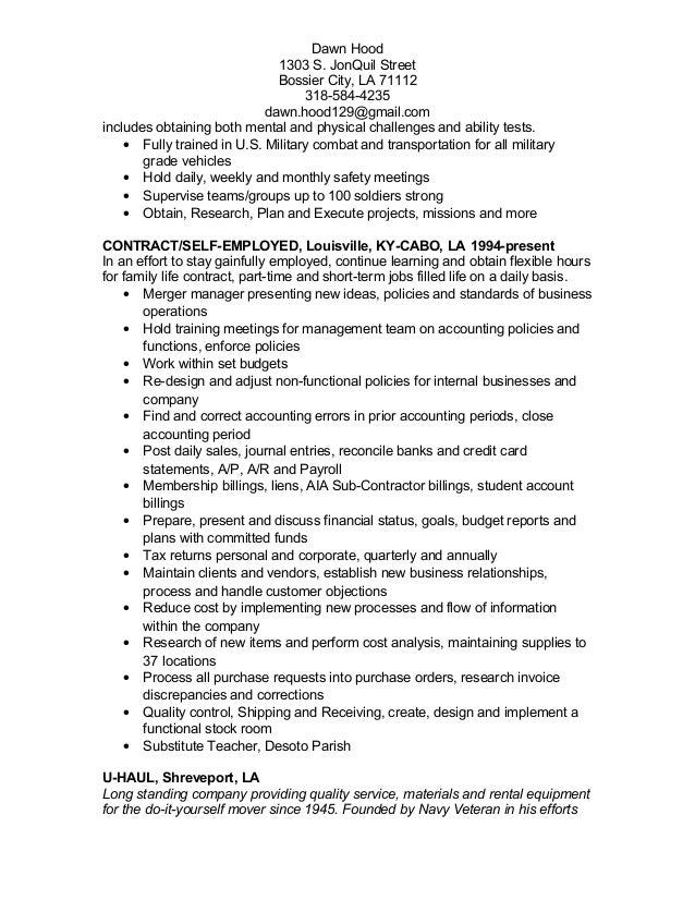 Us Army 88m Resume