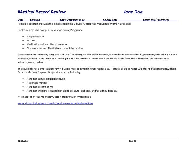 Medical Record Review-redacted