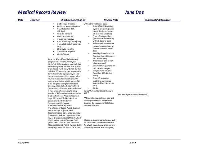 Medical Record Review-redacted