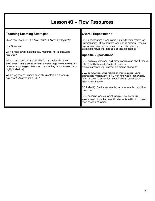 grade 7 unit plan