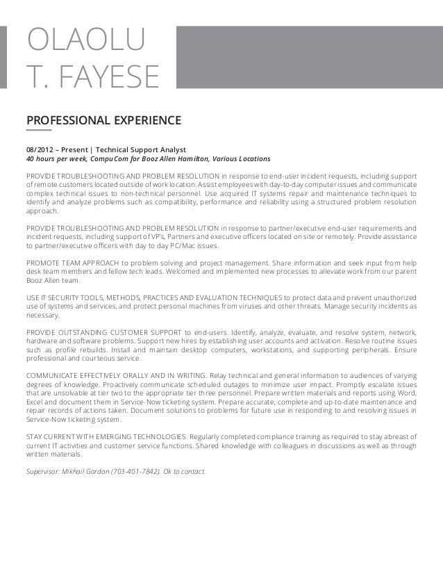 Olaolu T. Fayese - Resume