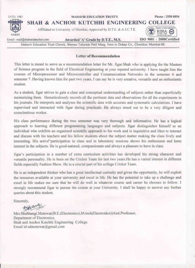 SHAH & ANCHOR REMMONDATION LETTER (1)