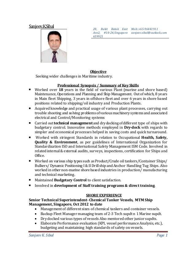 resume of sanjeev sibal 2015