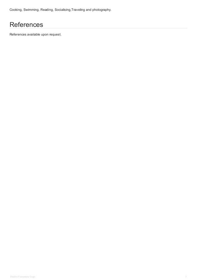 diakite fatoumata cv english