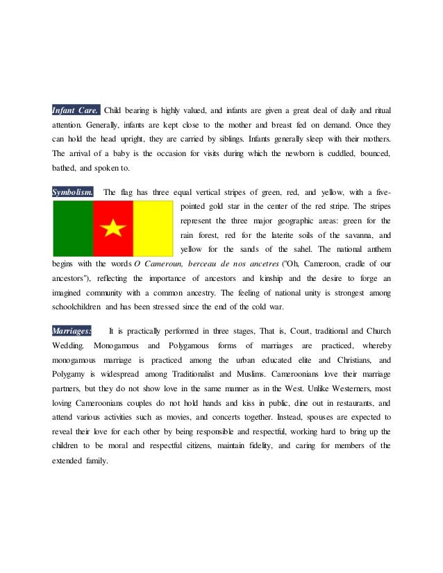 CAMEROON AND ITS RITUALS