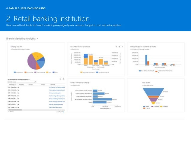 Microsoft dynamics crm user dashboards ebook2016 40 2 retail banking institution 6 sample user dashboards pronofoot35fo Choice Image
