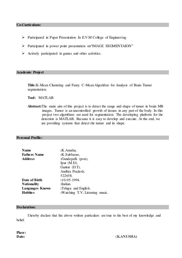 Best Resume Format Mca Fresher Freshers And Internship Resume Format  Careerride Bca Resume Format For Freshers Mlumahbu  Event Proposal Template  Event Ticket Template  Eviction