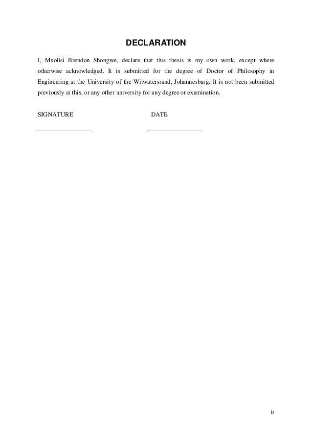 Phd no thesis biotechnology pdf