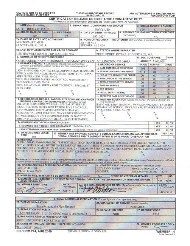 dd214 member copy 4 exle dd 214 member 4 form dd214 pdf