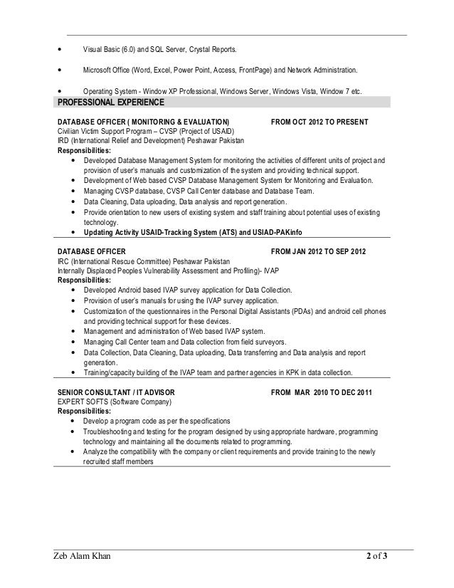Best Crystal Reports Resume Images Simple Resume Office