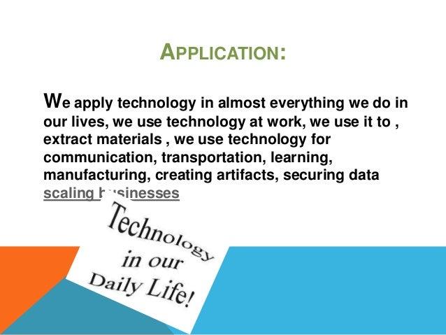 demerits of technology