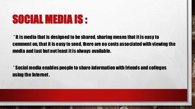 SOCIAL NETWORKING : Social Networking is the use of communities to engage with others: Facebook, MySpace, LinkedIn, Twitte...