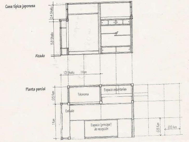 Uso de proporciones en cortes y fachadas for Cortes arquitectonicos
