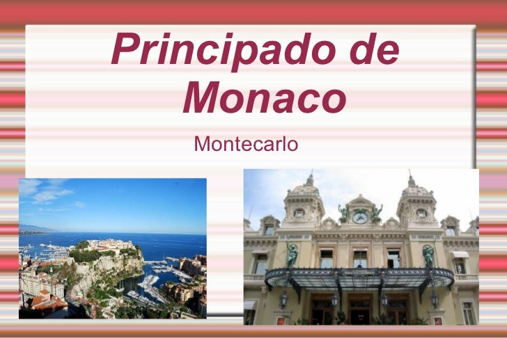 Principado de Monaco Montecarlo