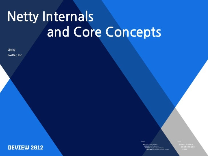 Netty Internals       and Core Concepts이희승Twitter, Inc.