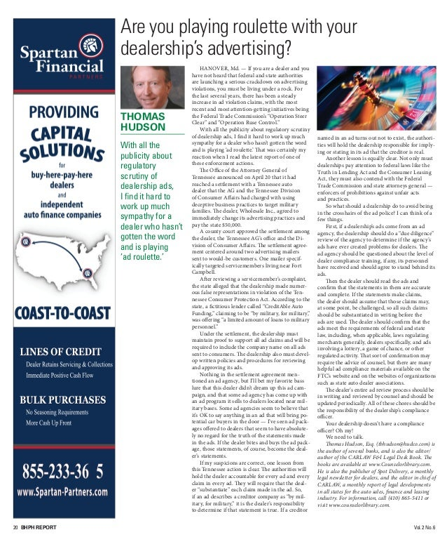 July/August2015 bhphreport.com 21 The 'bottom line' of Spireon's acquisition of Inilex By Nick Zulovich, Editor IRVINE, Ca...