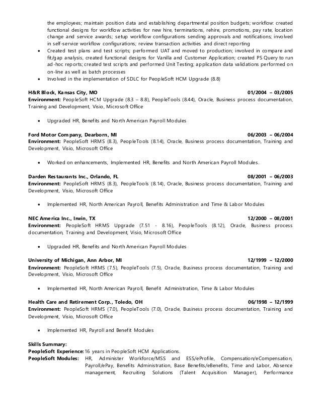 ramaseshu amirapu peoplesoft hcm functional consultant rh slideshare net peoplesoft nvision training manual peoplesoft training manuals free