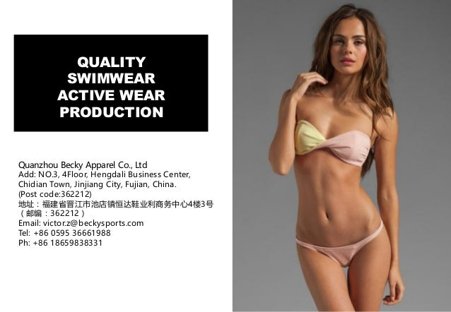 52f8829e23135 QUALITY SWIMWEAR ACTIVE WEAR PRODUCTION Quanzhou Becky Apparel Co.