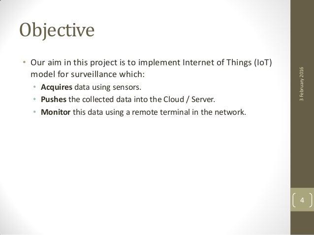 IoT Implementation of Sensor Data Acquisition in Surveillance Applica…
