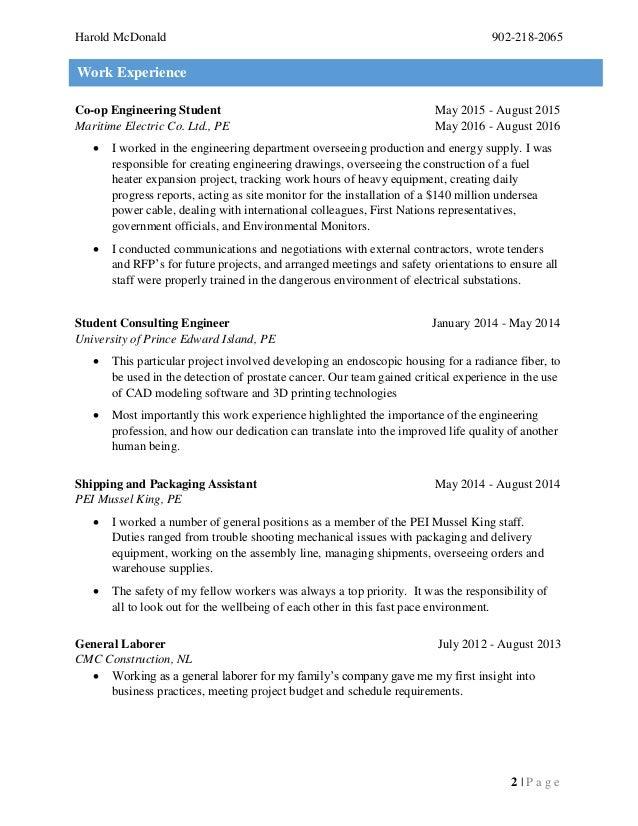 mcdonald  harold  resume  2017