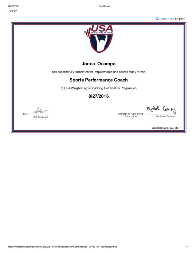 certificate usaw slideshare august upcoming