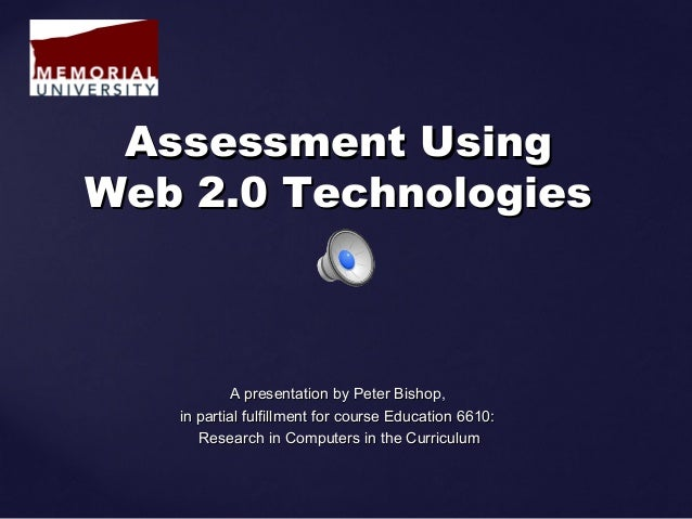 A presentation by Peter Bishop,A presentation by Peter Bishop, in partial fulfillment for course Education 6610:in partial...