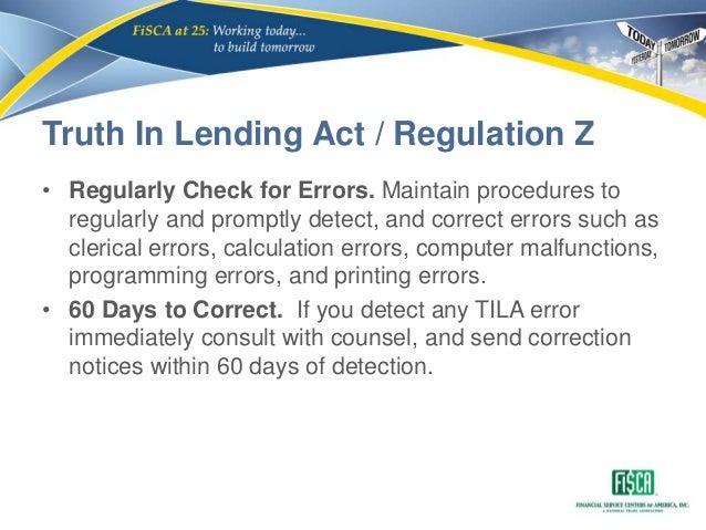 Cfpb small dollar lending exam procedures module 2 ecoa fcra tila 37 truth in lending act reheart Choice Image