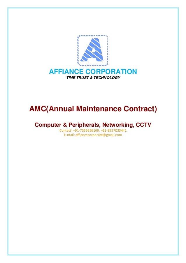 amc proposal