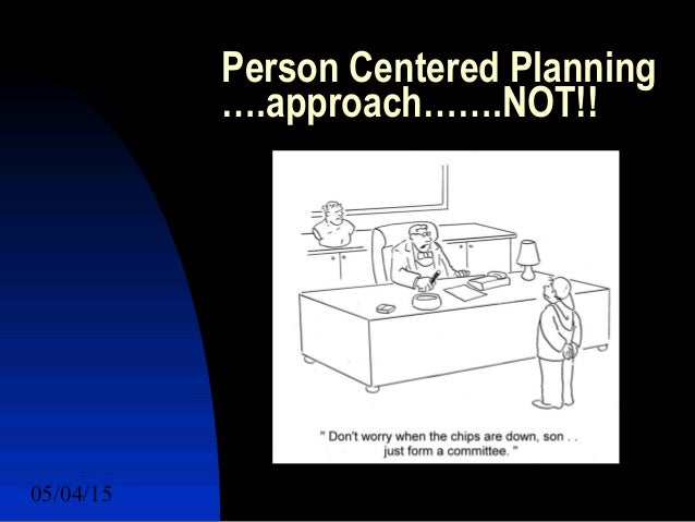 Person Centered Planning march
