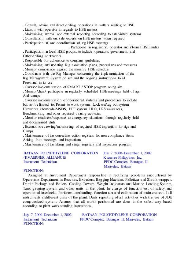 Alarm Monitor Resume Description