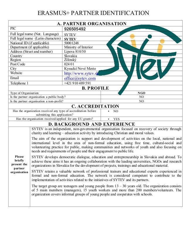 E-identification-form