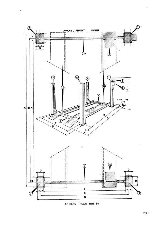 e 66 pont fog 403 a 404a 411a montage 10 79. Black Bedroom Furniture Sets. Home Design Ideas