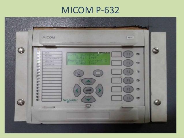 Micom P on Transformer Relay Wiring Diagram
