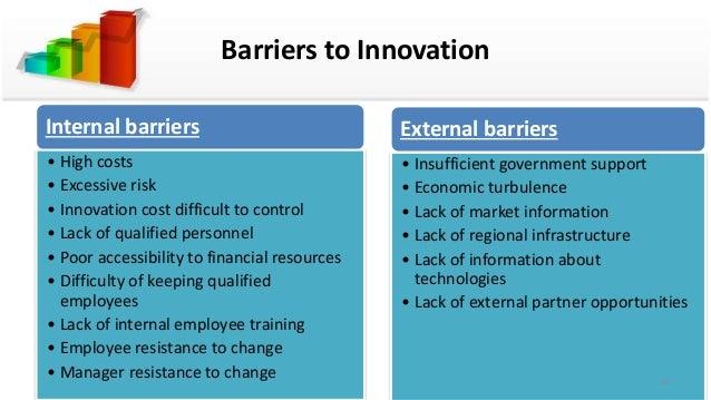 Internal and external barriers in organizational leadership