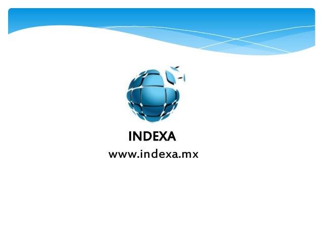 INDEXA www.indexa.mx