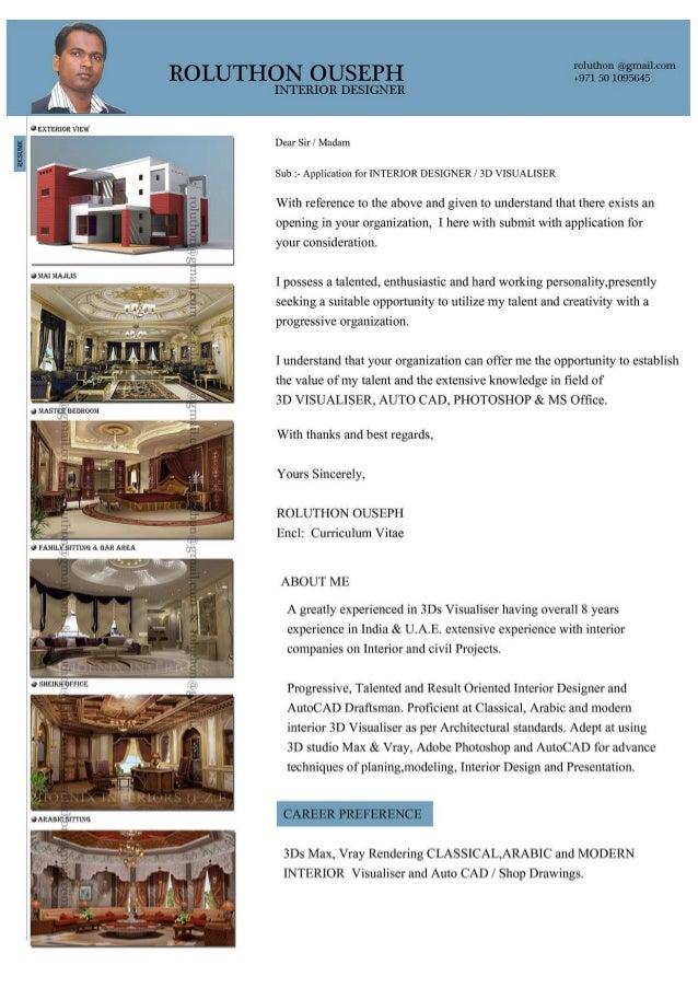 interior designer cv 2017  roluthon  pdf