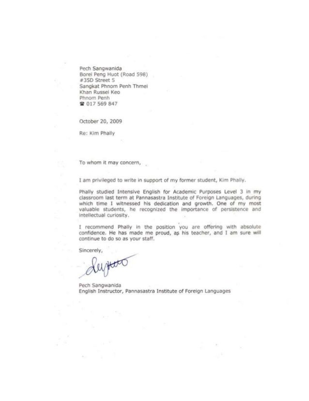 CV and Cover letter Mr.Kim Phally(Shipping)