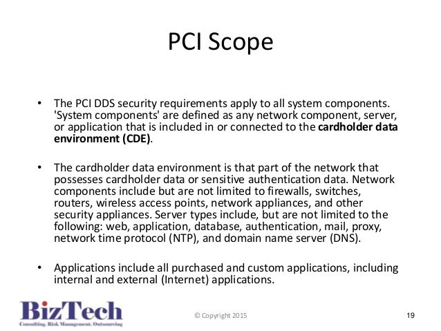 pci dss and the seven domains It security framework definition organize the organizational policies and operational procedures based on the 7-domains of a typical it pci-dss compliance.